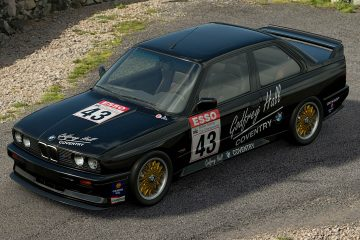 1989 Godfrey Hall BTCC BMW M3