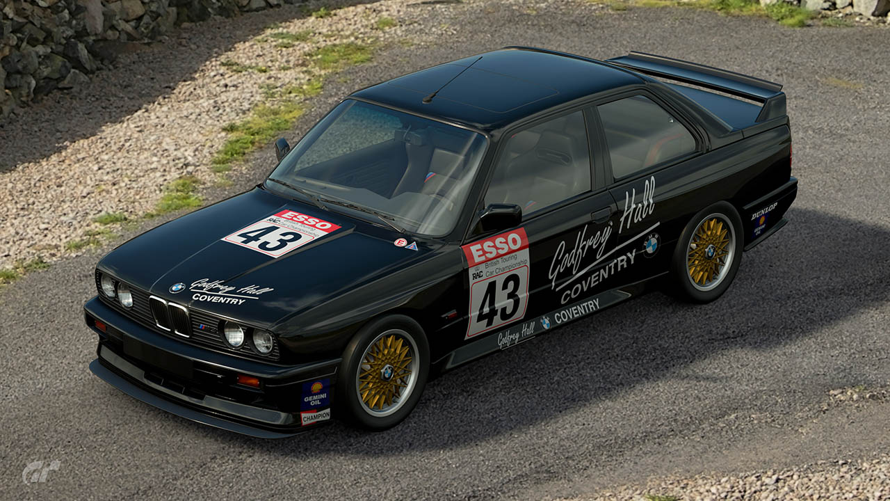 1989 Godfrey Hall BTCC BMW M3 – GT Sport