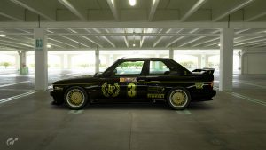 1987 ATCC JPS Team BMW M3 Livery