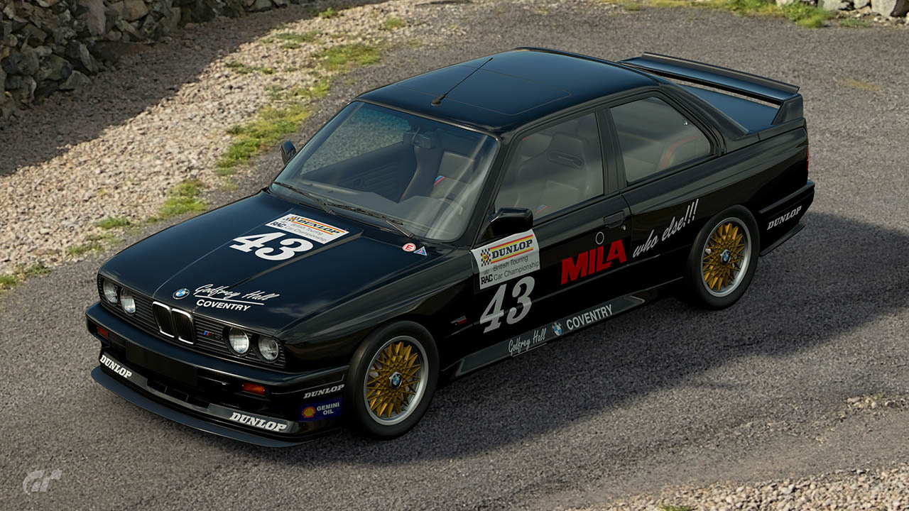 1988 Godfrey Hall BTCC BMW M3 – GT Sport
