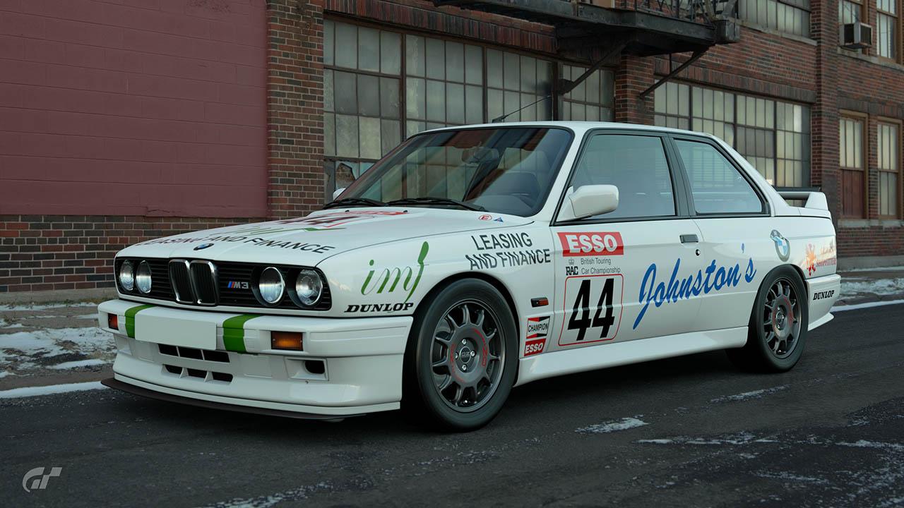 1989 John Llewellyn BTCC BMW M3 – GT Sport