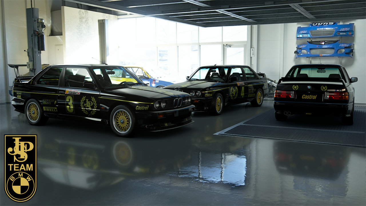 1987 ATCC JPS Team BMW M3 Liveries – GT Sport