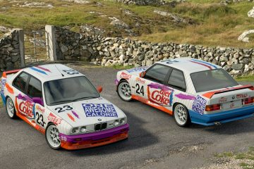 1993 ATCC Diet Coke BMW M3 Liveries