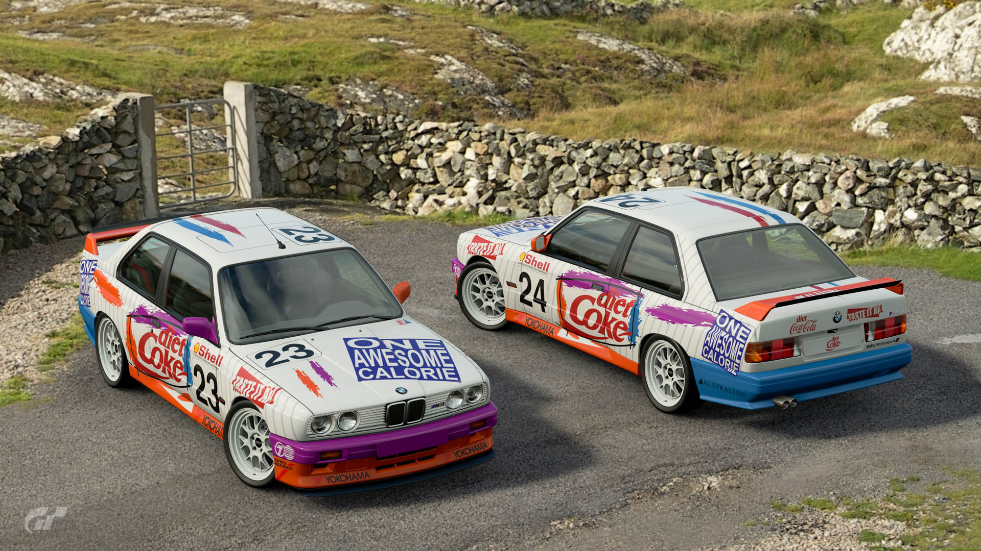 1993 ATCC Diet Coke BMW M3 Liveries – GT Sport
