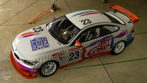 Diet Coke 1993 ATCC BMW M4 Liveries