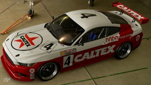 Caltex Racing 1989 ATCC Ford Mustang Liveries