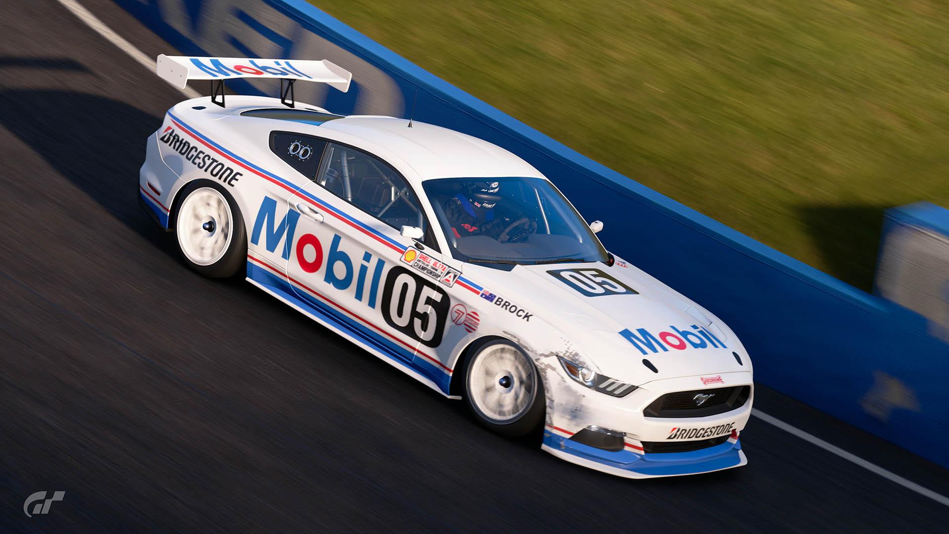 Mobil 1 Racing 1989 ATCC Ford Mustang Liveries