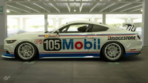 Mobil 1 Racing 1989 ATCC Ford Mustang Liveries