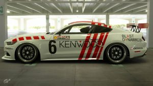 Andrew Miedecke 1989 ATCC Ford Mustang Livery