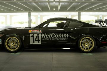 Murray Carter 1989 ATCC Ford Mustang Livery