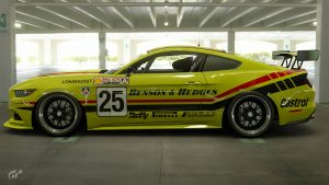 Benson and Hedges Racing 1989 ATCC Ford Mustangs