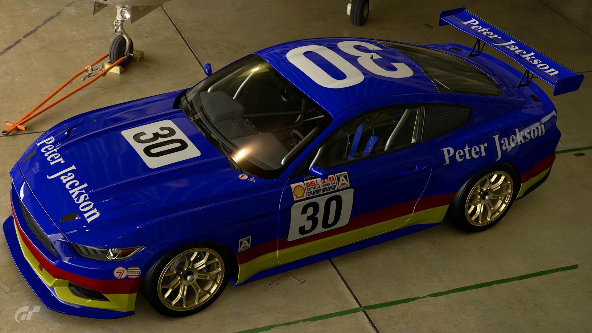 Glenn Seton Peter Jackson Racing 1989 ATCC Ford Mustang