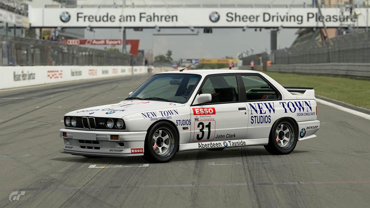 1989 John Clark BTCC BMW M3 – GT Sport