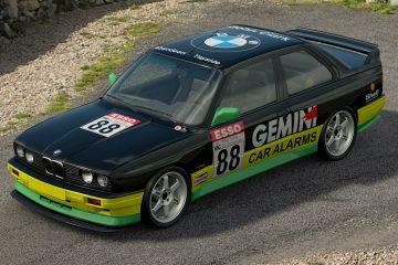 1990 John Clark BTCC BMW M3