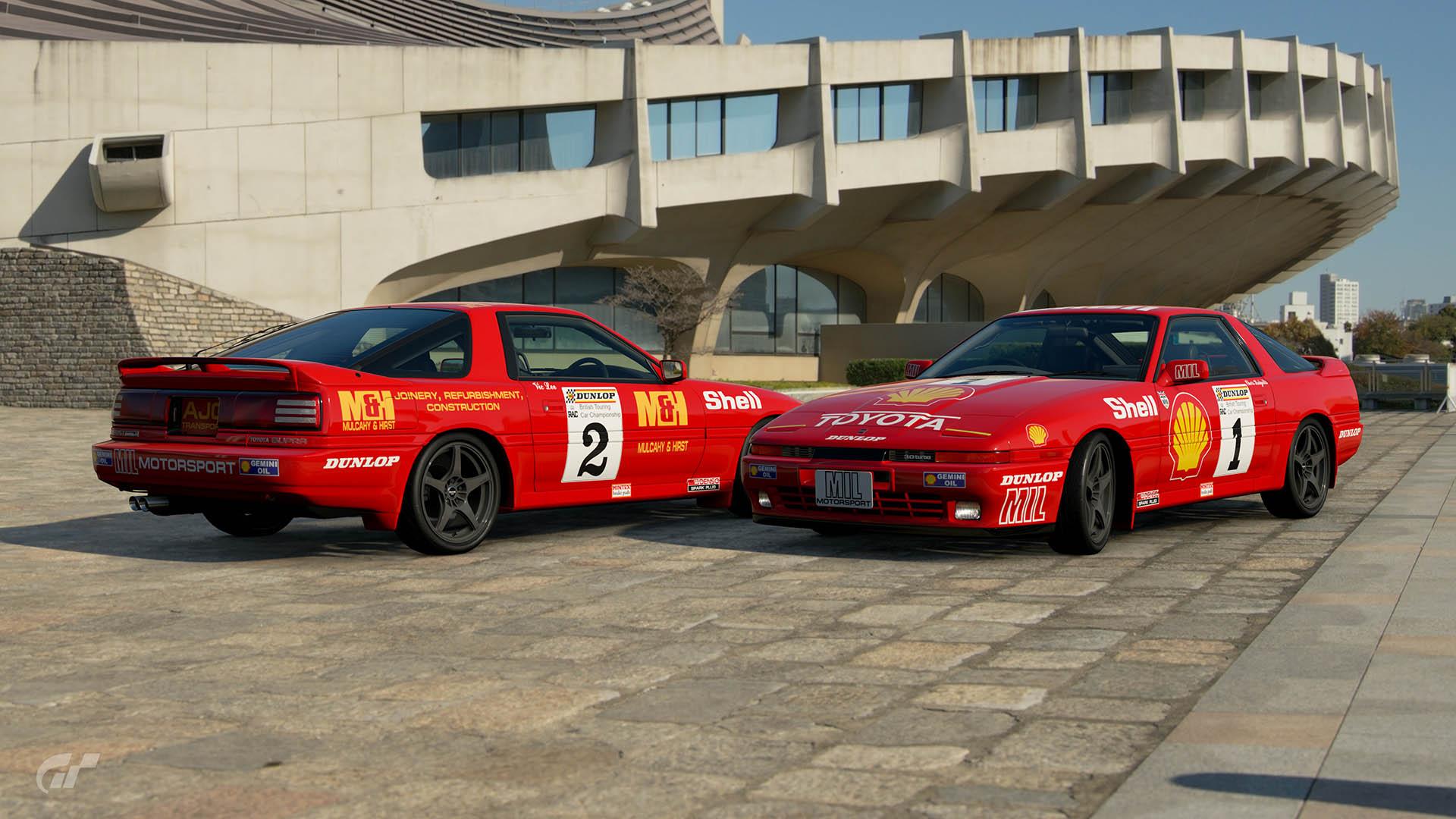 1988 BTCC Toyota Supra Liveries