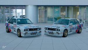 1989 BTCC BMW Finance Mobil1 Racing Liveries