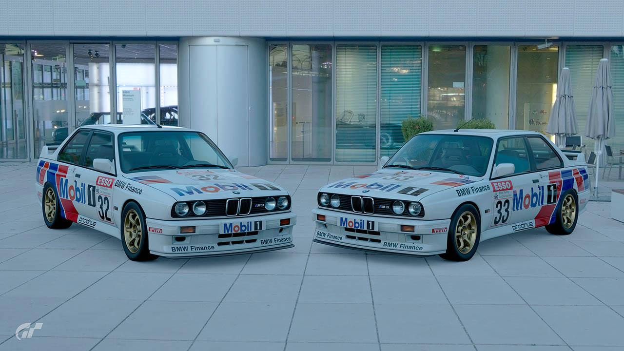 1989 BTCC BMW Finance Mobil1 Racing Liveries – GT Sport