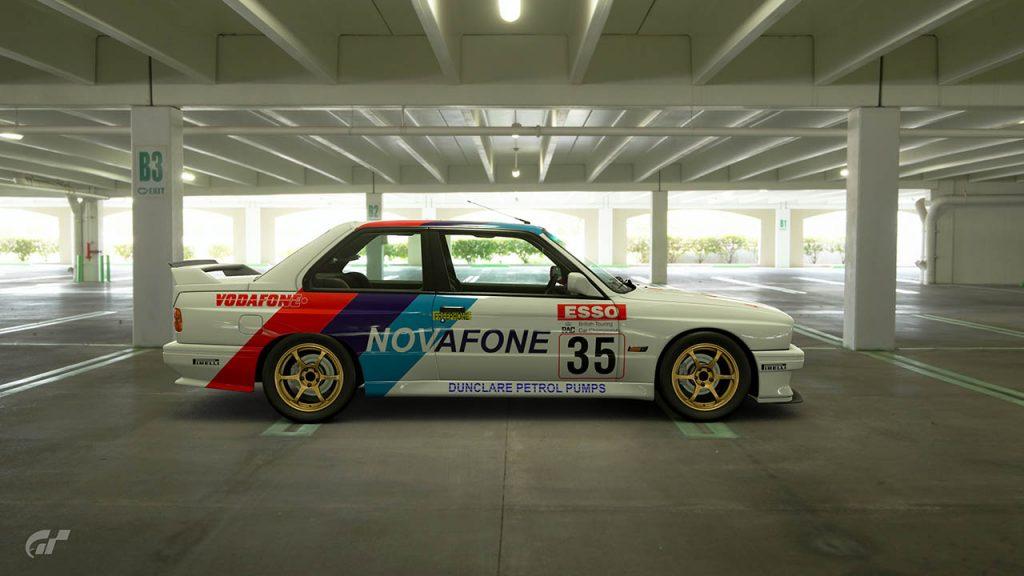 1989 Ian Forrest BTCC BMW M3