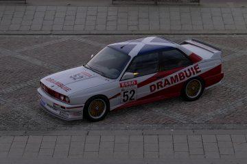 1990 Ian Forrest BTCC BMW M3 Livery