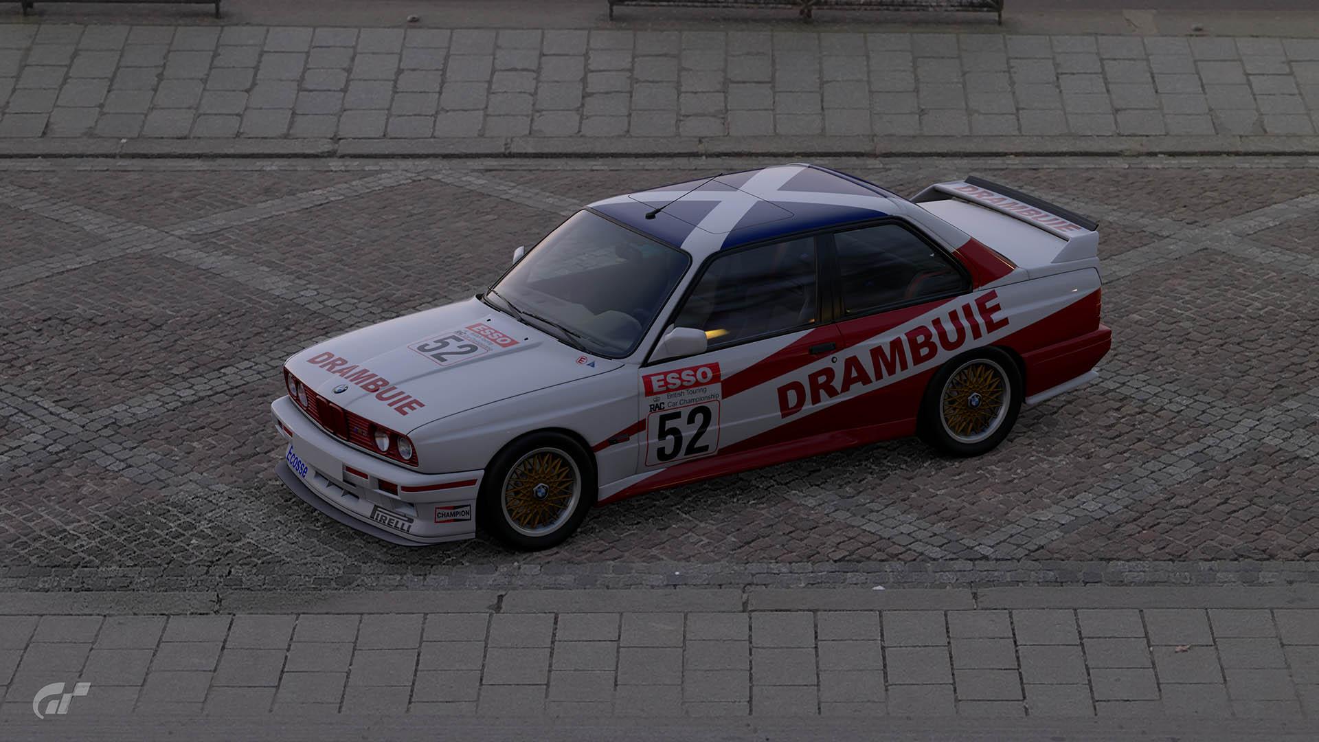 1990 Ian Forrest BTCC BMW M3 Livery – GT Sport