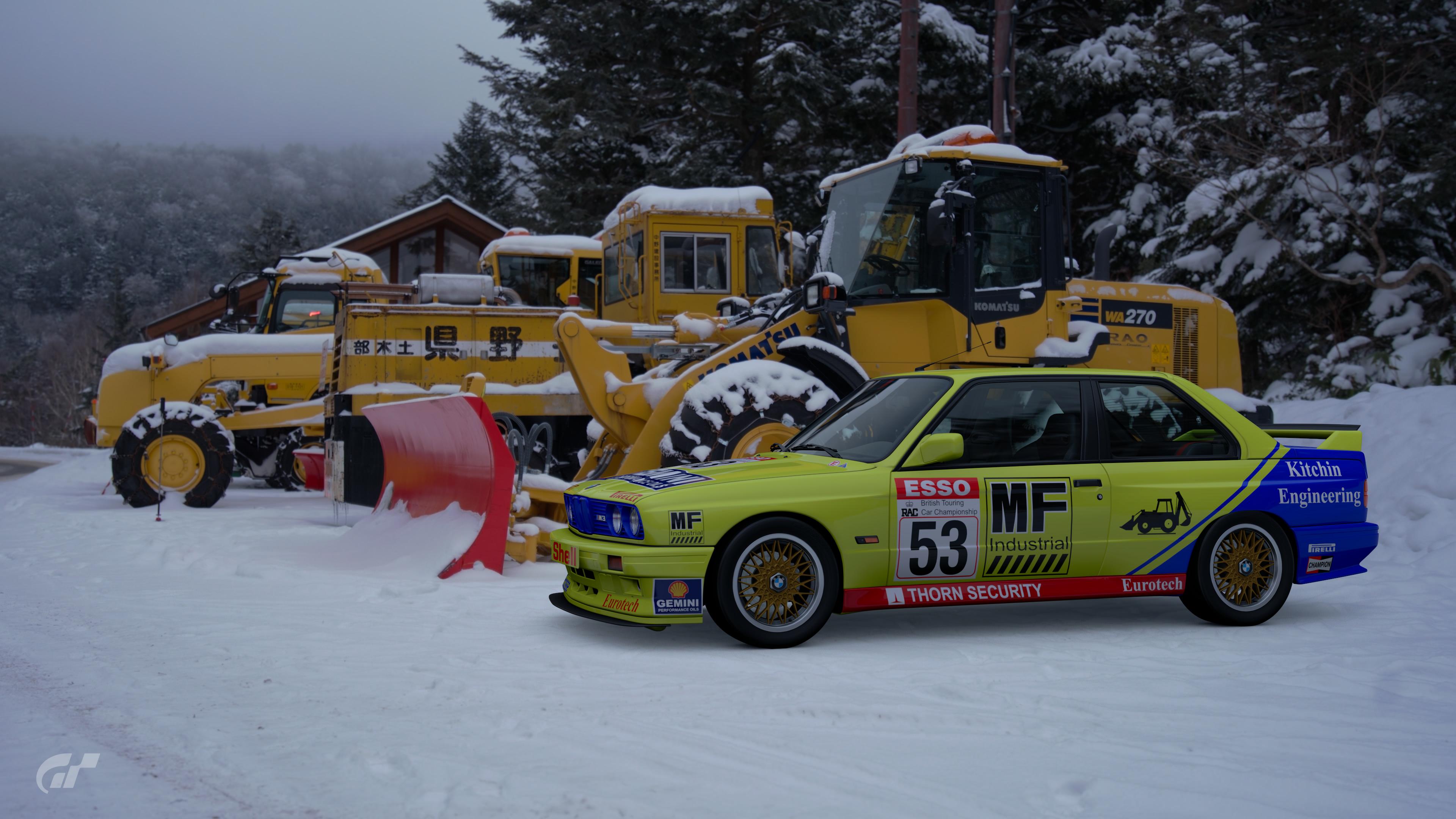 1990 Hugh Chalmers BTCC BMW M3 Livery – GT Sport