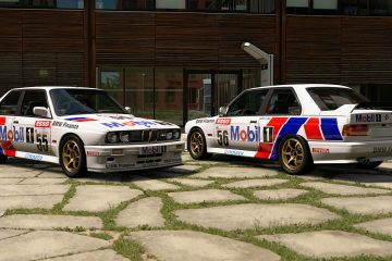 1990 BTCC BMW Finance Mobil 1 Racing Liveries