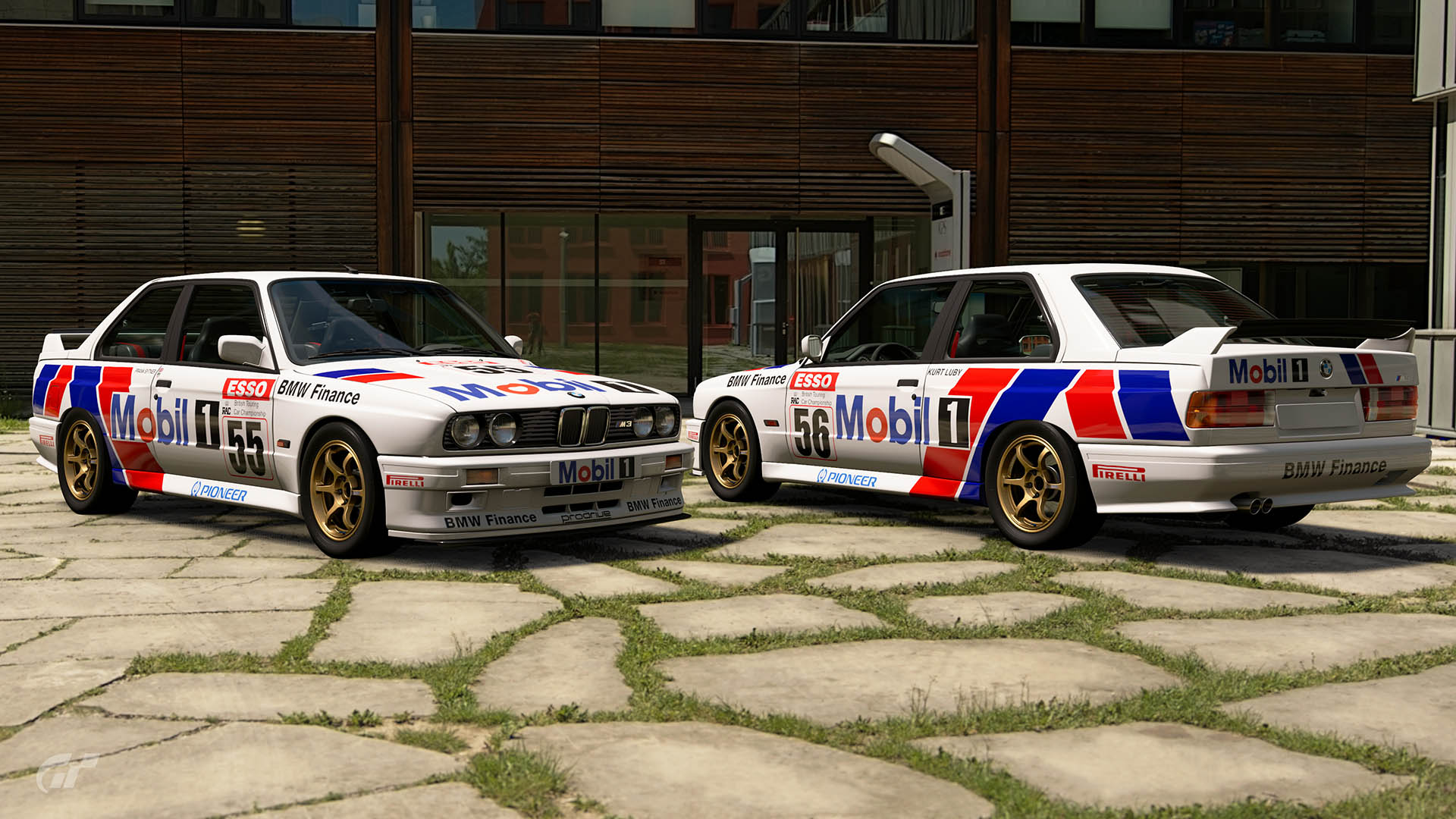 1990 BTCC BMW Finance Mobil 1 Racing Liveries – GT Sport