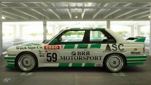 1990 Ian Flux BTCC BMW M3 Livery