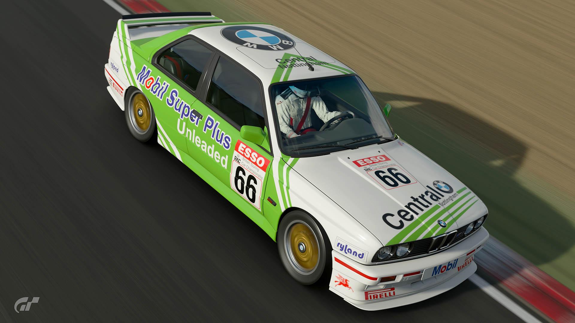 1990 Nick Whale BTCC BMW M3 Livery – GT Sport