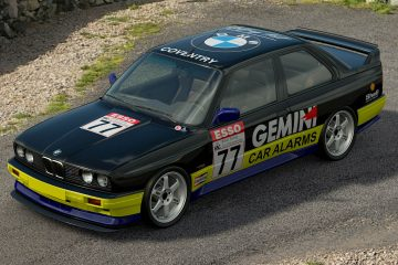 1990 Godfrey Hall BTCC BMW M3