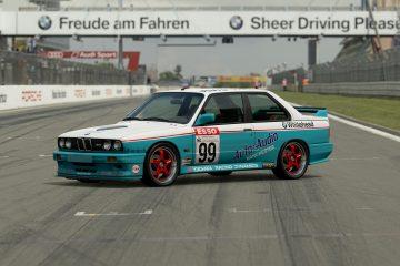 1990 Jeff Allam BTCC BMW M3