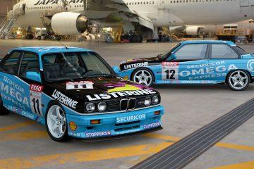 1991 BMW Team Labbatt's BTCC Liveries