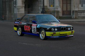 1991 Matt Neal BTCC BMW M3 Livery