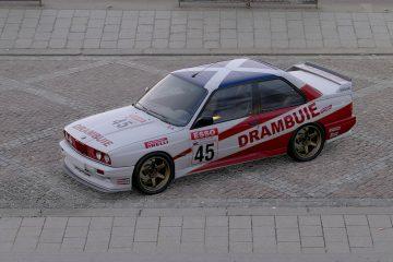 1991 Ian Forrest BTCC BMW M3 Livery