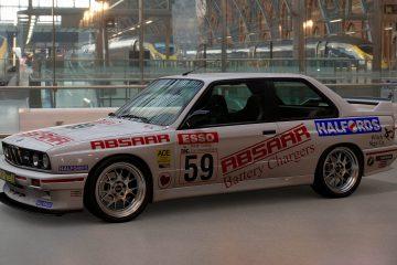 1991 Ian Flux BTCC BMW M3 Livery