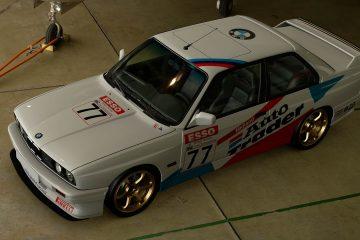 1991 Nick Baird BTCC BMW M3 Livery