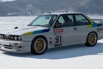 1991 Peggen Andersson BTCC BMW M3
