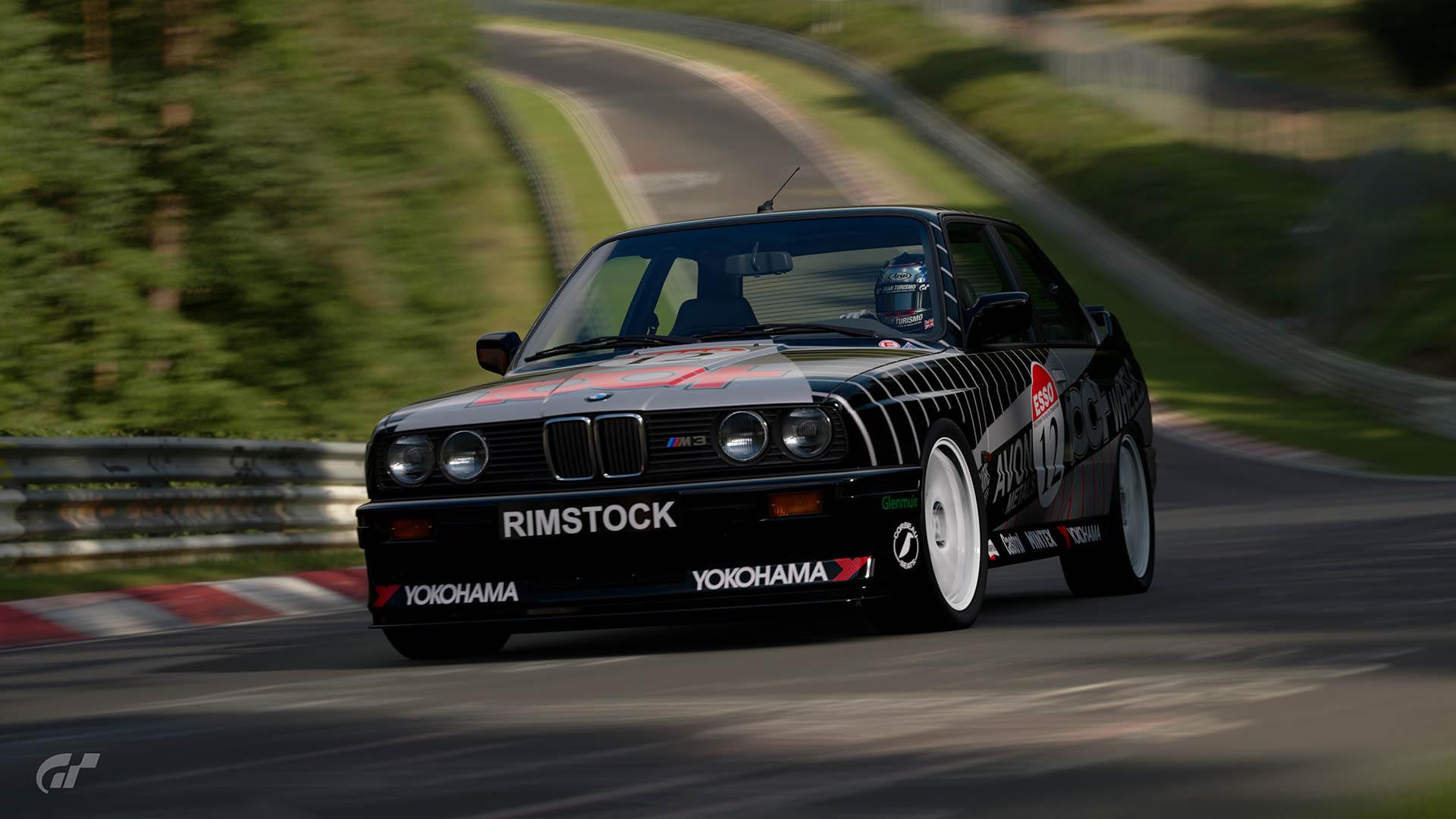 1992 Matt Neal BTCC BMW M3 Livery