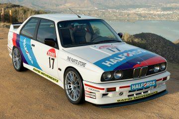 1992 Ian Flux BTCC BMW M3 Livery
