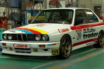 1992 Sean Walker BTCC BMW M3 Livery