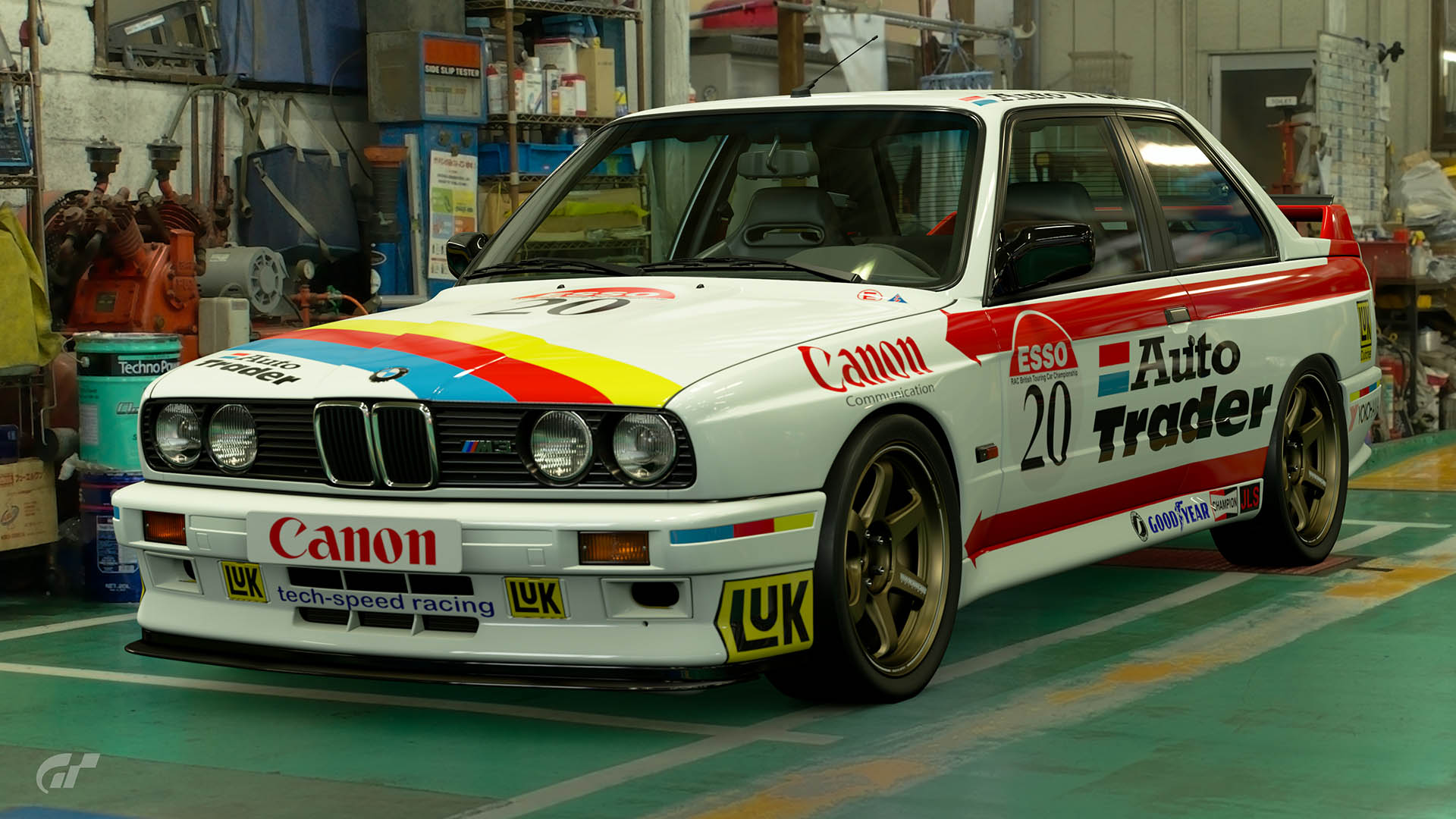 1992 Sean Walker BTCC BMW M3 Livery
