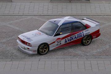 1992 Ian Forrest BTCC BMW M3 Livery