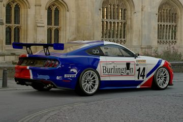 Mike Newman 1988 BTCC Ford Mustang livery