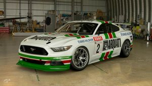 Jerry Mahony 1989 BTCC Ford Mustang Livery