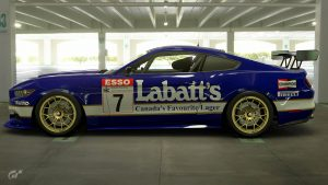 Labatt's 1989 BTCC Ford Mustang Liveries
