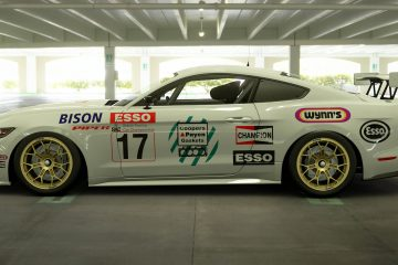 Mike O'Brien 1989 BTCC Ford Mustang Livery