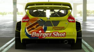 Burger Shot World Rally Team Ford Focus Livery