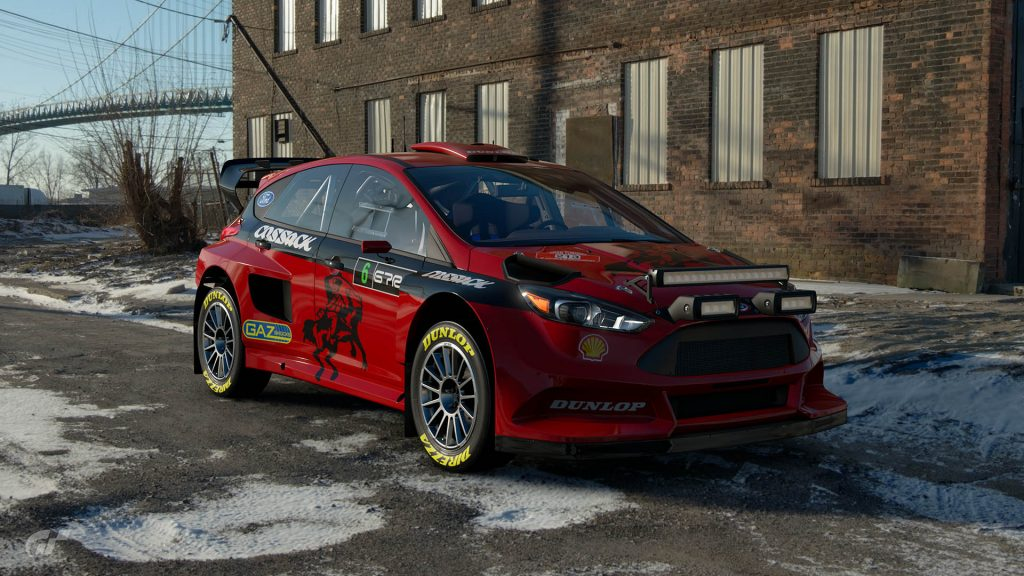 Roger Clark Cossack Ford Focus Tribute Livery