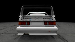 1986 DTM Scuderia Kassel Mercedes 190E Liveries