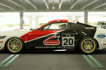 Grab Motorsport Hein Gericke 1988 DTM Ford Mustang Tribute Liveries
